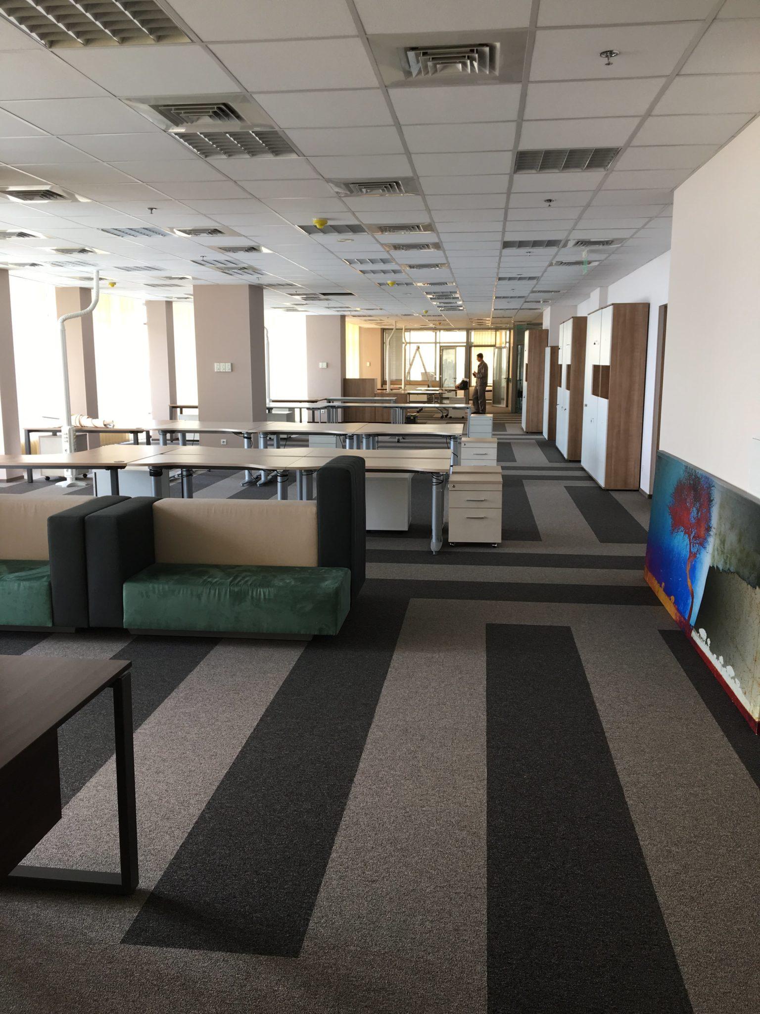 ремонт офиса в помещении ЦУМа в Киеве