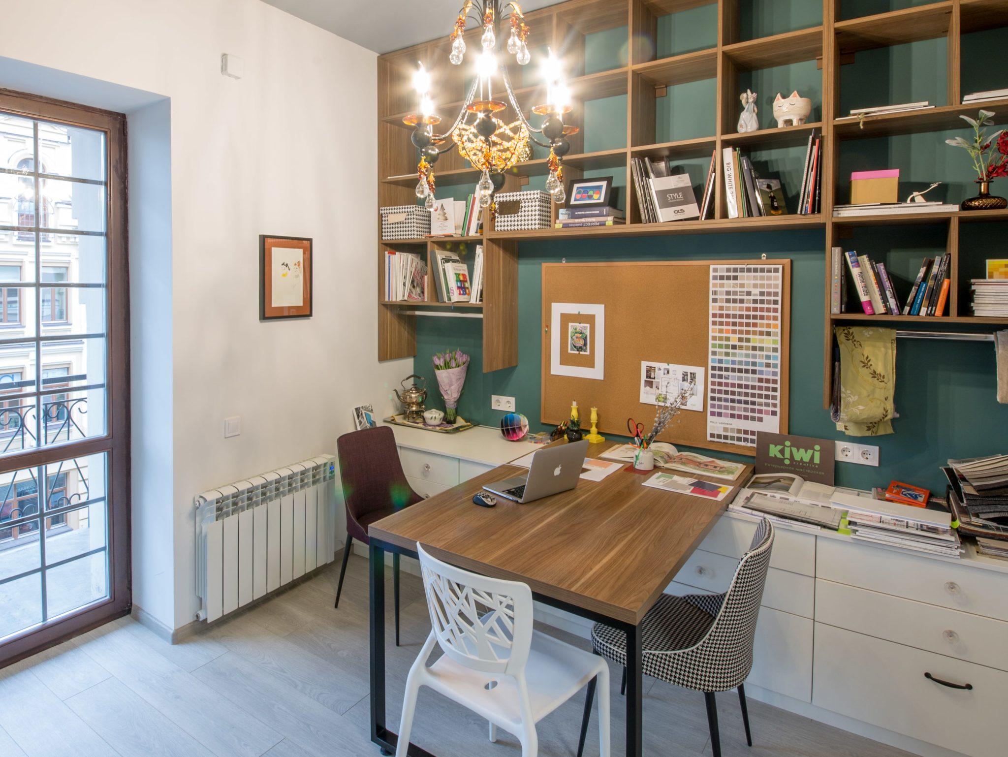 Ремонт офиса в Киеве компании Kiwi